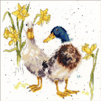 Bothy Threads Ewe /& Me  by Hannah Dale Sheep and Lamb Wrendale Counted Cross Stitch Kit XHD47