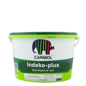 (7,20€/ L) Caparol Indeko Plus 12,5L weiss, premium Innenfarbe, hochdeckend