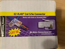 Platinum Tools EZ-RJ45 Cat5e Connector 100/Box 100003B