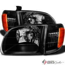 For 00-04 Tundra Regular/Access Cab Black Replacement Headlights L+R Upgrade