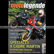 MOTO LEGENDE N°151 MARTIN HONDA CBX 1000 GSX 1100 SUZUKI VAN VAN DOLLAR 500 S3