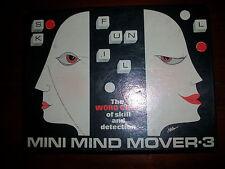 MINI LUCE Mover 3 VINTAGE parola gioco di abilità e rilevazione Free P+P