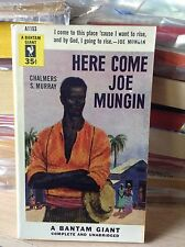 "Murray, Chalmers HERE COME JOE MUNGIN (1954) NEAR MINT pb ""sea island negroes"""