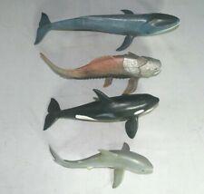 More details for schleich ocean life bundle, orca, blue whale, shark + dunkleosteus figures
