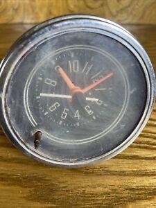 1976 - 1986 JEEP CJ5 CJ7 CJ8 Factory Dash Clock Untested