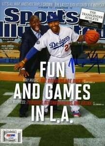Matt Kemp Psa Dna Coa Autograph 2012 Dodgers Si Hand Signed Authentic