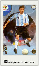 2010 Panini World Cup Soccer Trading Card Common No38 Gabriel Heinze (Argentina)
