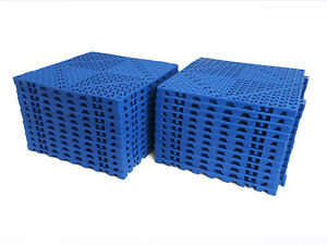VinTile Modular Interlocking Cushion Floor Tile Mat Drain Deck Pool Shower Bath