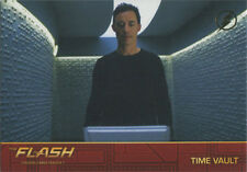Flash Season 1 Locations Gold Logo Parallel Chase Card #L7 Time Vault