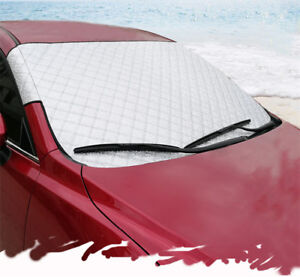 1x Car Front Windshield Cover Snow Ice Frost Guard Sun Shade Protector 4 Seasons