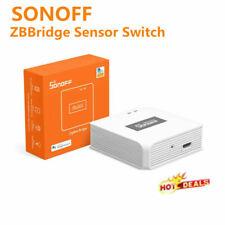 Sonoff ZigBee моста беспроводной окна и дверные переключатель датчика температура и влажность