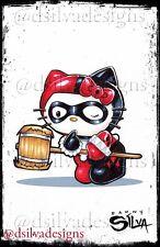 Hello Quinny / Harley Quinn 11x17 Mashup Artist Print