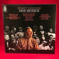 DAVE BRUBECK Summit Sessions 1971 UK vinyl LP EXCELLENT CONDITION Tony Bennett