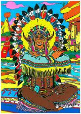 Tableau à colorier en velours - INDIEN - Neuf