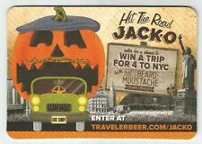 16 Traveler  Hit The Road Jack-O Coasters  Halloween Theme Beer Coasters