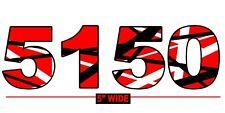 EVH 5150 Eddie Van Halen VH Frankenstein Red Striped Car Guitar Vinyl Sticker