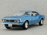 CHEVROLET Camaro SS 396 - 1968 - bluemetallic - WELLY 1:18