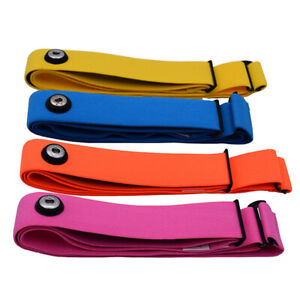 Wireless Sport Heart Rate Monitor Chest Belt Strap Band For Garmin Polar Wahoo