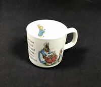 "Peter Rabbit Nursery by Wedgwood Mug Cup 3"" - Replacement - Beatrix Potter"