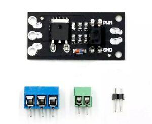 Arduino Power PWM Mosfet Modul mit Optokoppler Transistor FR120N LR7843 AOD4184