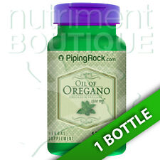 Oil of Oregano Extract 1500 mg 150 Liquid Capsules by Piping Rock