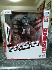 ??TRANSFORMERS War for Cybertron Series NETFLIX Optimus Primal and Rattrap