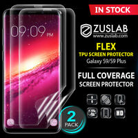 Galaxy S8 S9 S9 Plus Genuine ZUSLAB Flex Full Coverage Soft TPU Screen Protector