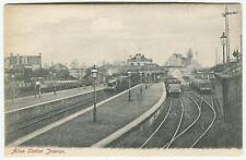 ALLOA STATION INTERIOR - Clackmannanshire Postcard - RAILWAY - Train (P663)