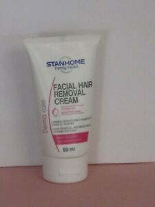STANHOME DERMA CARE FACIAL HAIR REMOVAL & MOISTURIZING CREAM  50 ml. NEW!