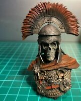 1/9 BUST Resin Figure Model Kit Centurion Skeleton The Last Warrior Unpainted