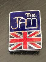 Vintage Collectible The Jam British Colorful Metal Pinback Lapel Pin Hat Pin