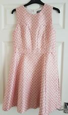 Ladies Oasis Pink Floral  Dress size 10.