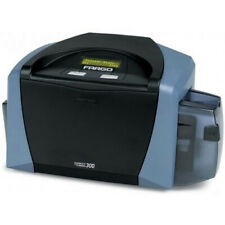 New listing Fargo X001400 / 044000 Direct to Card 300 Id Card Thermal Printer - Vgc