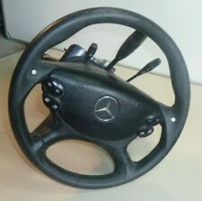 MERCEDES BENZ SL500 BLACK 2008 A2304620420  ELECTRIC STEERING WHEEL ONLY