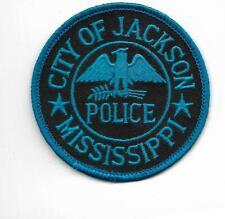 US Capital City HAUPTSTADT  MISSISSIPPI  Jackson Polizei Abzeichen Police Patch
