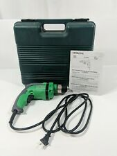 "Hitachi D10VH 3/8"" Handheld Drill  Varable Speed Corded 120V/60Hz/6A/680W"