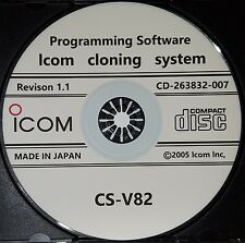 Icom CS-V82 Programming Software for Icom IC-V82, IC-U82