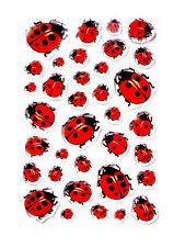 Ladybird Stickers Enfants Fabrication Carte Décoration étiquettes pour les enfants cry06