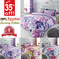 Thermal Duvet 100% Brushed Cotton Bedding Set FLANNELETTE Luxury Quilt Cover