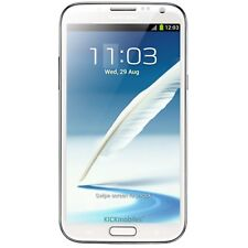 BNIB Samsung Galaxy Note II GT-N7100 16GB Marble White Factory Unlocked 3G GSM