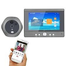 """5"""" TFT Peephole Camera Doorbell 720P WiFi Video Intercom Digital Door Viewer"""