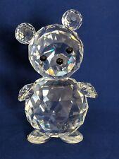 "Swarovski 1988 Crystal Giant Bear Figure 4-3/4"""