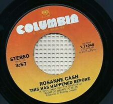 ROSANNE CASH / BOBBY BARE - No Memories Hangin' Round / This Has Happened Before