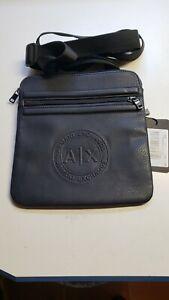 ARMANI EXCHANGE Shoulder bag CROSSBODY- MENS CROSSBODY 952108 FAUX LEATHER.LOGO