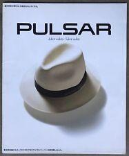 1991 Nissan Pulsar original sales brochure