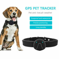 Waterproof GPS Pet Collar Tracker GPRS Cat Dog Real Time Tracking Locator Device