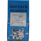 50 Packs Zoo Dental Orthodontics Elastic Rubber Bands Latex Braces 1/4 5.0 Oz