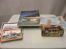 Philippines Collectibles Post Cards Jeepney Special Edition Tour Guide Map LOT