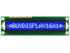 3.3V 16x1 Blue LCD Big Character Module Display HD44780 Controller w/Tutorial