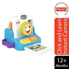 Fisher-Price Laugh & Learn Click and Learn Instant Camera Toy For Kids